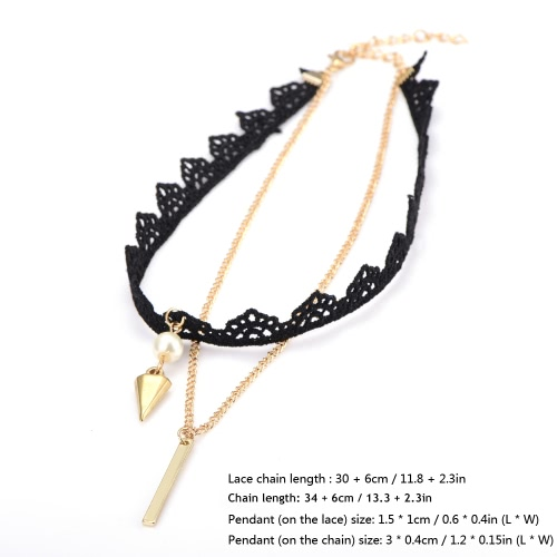Fashion New Retro Vintage Choker Black Necklace Chain Lady Jewelry Accessory for Women Girls GiftApparel &amp; Jewelry<br>Fashion New Retro Vintage Choker Black Necklace Chain Lady Jewelry Accessory for Women Girls Gift<br>
