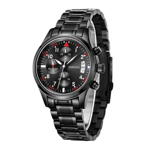 SONGDU New Luxury Luminous Water-Proof Man Casual WristwatchApparel &amp; Jewelry<br>SONGDU New Luxury Luminous Water-Proof Man Casual Wristwatch<br>
