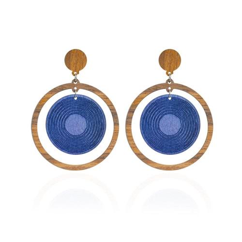Fashion Lady Natural Wooden Ear Studs for Women Water Shape Drop Dangle EarringsApparel &amp; Jewelry<br>Fashion Lady Natural Wooden Ear Studs for Women Water Shape Drop Dangle Earrings<br>