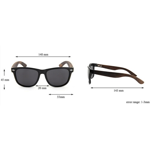 Fashion Wayfarer Natural Wooden Sunglasses with Polarized Lenses for Men and WomenApparel &amp; Jewelry<br>Fashion Wayfarer Natural Wooden Sunglasses with Polarized Lenses for Men and Women<br>