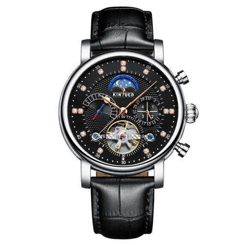 KINYUED Luxury 3ATM Water-Proof Automatic Mechanical WatchApparel &amp; Jewelry<br>KINYUED Luxury 3ATM Water-Proof Automatic Mechanical Watch<br>