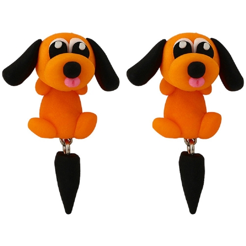 Fashion Cartoon Cute Pet Dog Earrings Hand-made Clay Ladies Personalized Earrings JewelryApparel &amp; Jewelry<br>Fashion Cartoon Cute Pet Dog Earrings Hand-made Clay Ladies Personalized Earrings Jewelry<br>