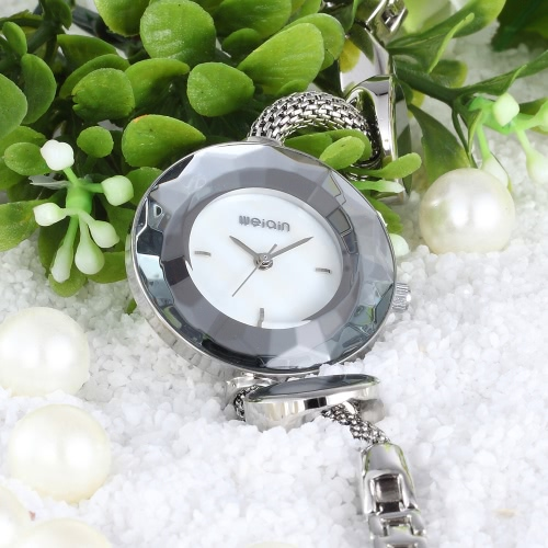 WEIQIN Fashion Luxury Quartz Women Bracelet Watch Simplicity Water-Proof Stainless Steel Ladies Casual Wristwatch Decorative WatchApparel &amp; Jewelry<br>WEIQIN Fashion Luxury Quartz Women Bracelet Watch Simplicity Water-Proof Stainless Steel Ladies Casual Wristwatch Decorative Watch<br>