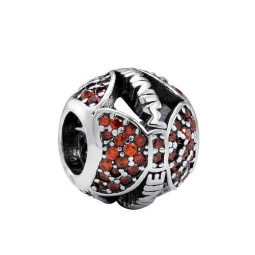Romacci S925 Sterling Silver Cute Enamel Christmas Charm Bead for DIY BraceletApparel &amp; Jewelry<br>Romacci S925 Sterling Silver Cute Enamel Christmas Charm Bead for DIY Bracelet<br>