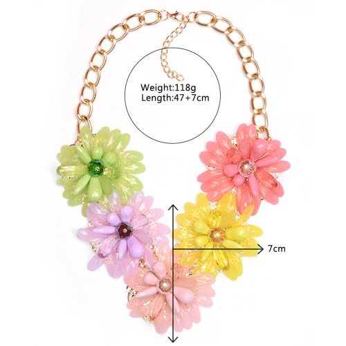 Woman Girl Fashion Vintage Retro Flower Sunflower Pendants Choker Necklace Chain Jewelry for Party Wedding GiftApparel &amp; Jewelry<br>Woman Girl Fashion Vintage Retro Flower Sunflower Pendants Choker Necklace Chain Jewelry for Party Wedding Gift<br>