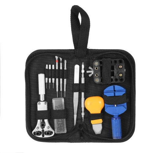 30PCS Professional Watch Repair Tool Kit Case Opener Band Link Remover Screwdrivers Watchmaker Tool SetApparel &amp; Jewelry<br>30PCS Professional Watch Repair Tool Kit Case Opener Band Link Remover Screwdrivers Watchmaker Tool Set<br>
