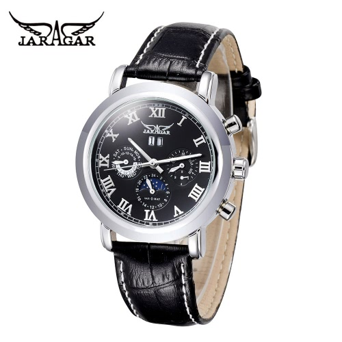 JARAGAR High Quality Automatic Mechanical Watch Water Resistant Self-windingApparel &amp; Jewelry<br>JARAGAR High Quality Automatic Mechanical Watch Water Resistant Self-winding<br>