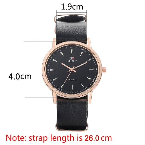 SOXY Business Casual Wrap Wrist Quartz Electronic Watch RoundApparel &amp; Jewelry<br>SOXY Business Casual Wrap Wrist Quartz Electronic Watch Round<br>