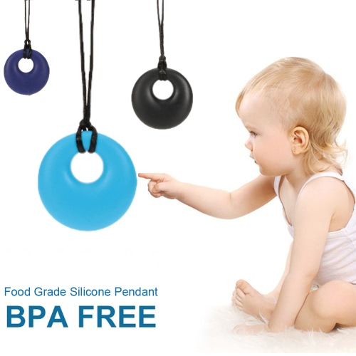 100% Food Grade Silicone Teething Donut Ring Pendant Necklace Soft Beads for Chew Baby Toddler Nursing Jewelry Toy for Mom to WearApparel &amp; Jewelry<br>100% Food Grade Silicone Teething Donut Ring Pendant Necklace Soft Beads for Chew Baby Toddler Nursing Jewelry Toy for Mom to Wear<br>