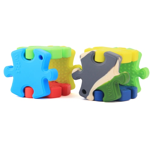 100% Food Grade Silicone Hand Held Irregular Jigsaw Puzzle Autism Awareness Teether Teething Pendant for Necklace Chew Baby ToddleApparel &amp; Jewelry<br>100% Food Grade Silicone Hand Held Irregular Jigsaw Puzzle Autism Awareness Teether Teething Pendant for Necklace Chew Baby Toddle<br>