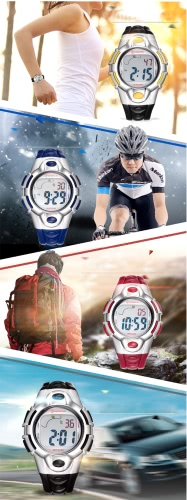 Mingrui 3ATM Water-resistant Multi-functional Children Watch Boys &amp; Girls Sport Wristwatches Student Digital Watches Alarm BackligApparel &amp; Jewelry<br>Mingrui 3ATM Water-resistant Multi-functional Children Watch Boys &amp; Girls Sport Wristwatches Student Digital Watches Alarm Backlig<br>
