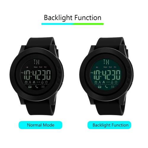 [Upgrade Version] SKMEI 1255 Smart Sport Digital Wristwatches With BTApparel &amp; Jewelry<br>[Upgrade Version] SKMEI 1255 Smart Sport Digital Wristwatches With BT<br>
