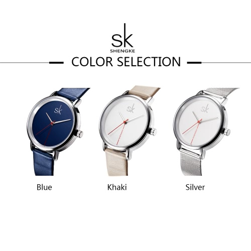 Shengke Fashion Simple Watch 3ATM Water-resistant Quartz Watch Women Wristwatches FemaleApparel &amp; Jewelry<br>Shengke Fashion Simple Watch 3ATM Water-resistant Quartz Watch Women Wristwatches Female<br>