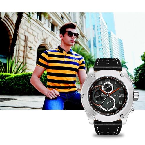 SINOBI Fashion Casual Quartz Watch 3ATM Water-resistant Watches Men Wristwatches Male Calendar TimerApparel &amp; Jewelry<br>SINOBI Fashion Casual Quartz Watch 3ATM Water-resistant Watches Men Wristwatches Male Calendar Timer<br>
