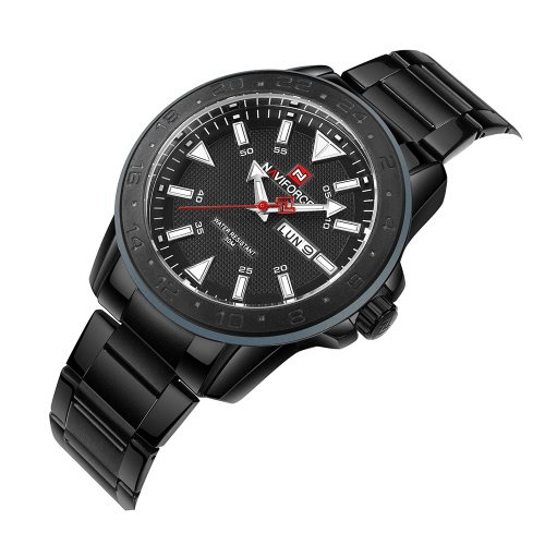 NAVIFORCE Sport Quartz Watch 3ATM Water-resistant Men Watches Luminous Wristwatch Male CalendarApparel &amp; Jewelry<br>NAVIFORCE Sport Quartz Watch 3ATM Water-resistant Men Watches Luminous Wristwatch Male Calendar<br>