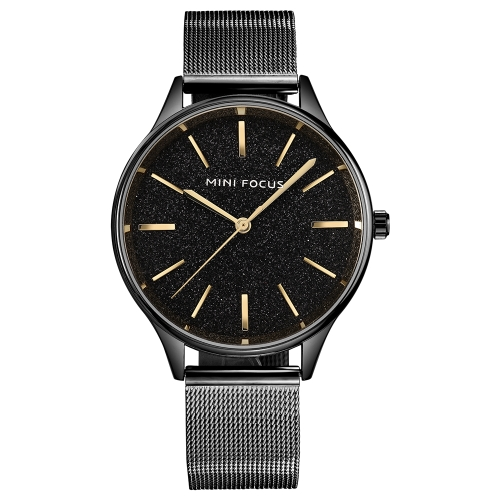 Mini Focus Brand Luxury Quartz Women Watches Mesh Stainless Steel Band Water-Proof Ladies Casual Wristwatch + BoxApparel &amp; Jewelry<br>Mini Focus Brand Luxury Quartz Women Watches Mesh Stainless Steel Band Water-Proof Ladies Casual Wristwatch + Box<br>