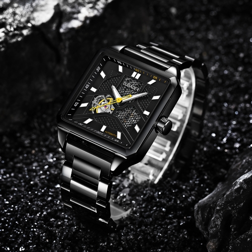 OUBAOER Luxury Stainless Steel Business Automatic men Watches Mechanical 3ATM Water-resistant Luminous Man WristwatchApparel &amp; Jewelry<br>OUBAOER Luxury Stainless Steel Business Automatic men Watches Mechanical 3ATM Water-resistant Luminous Man Wristwatch<br>