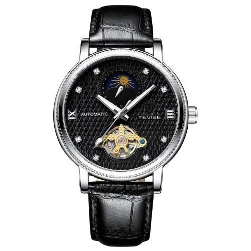 Relógio Mecânico Automático para Homem de Negócios TEVISE T612