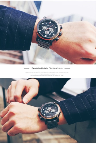 OCHSTIN Fashion Stainless Steel Men Watch Water-Proof Chronograph Casual Wristwatch Sports Style Man Casual Watch + BoxApparel &amp; Jewelry<br>OCHSTIN Fashion Stainless Steel Men Watch Water-Proof Chronograph Casual Wristwatch Sports Style Man Casual Watch + Box<br>