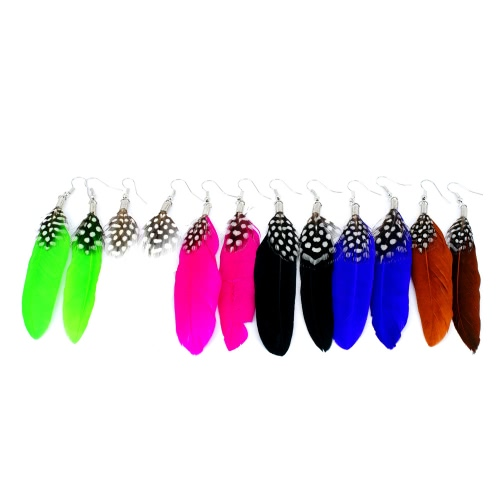 Long Feather Chandelier Earring Cute Dangle Eardrop Women Girl Fashion Jewelry Charm Accessory GiftApparel &amp; Jewelry<br>Long Feather Chandelier Earring Cute Dangle Eardrop Women Girl Fashion Jewelry Charm Accessory Gift<br>