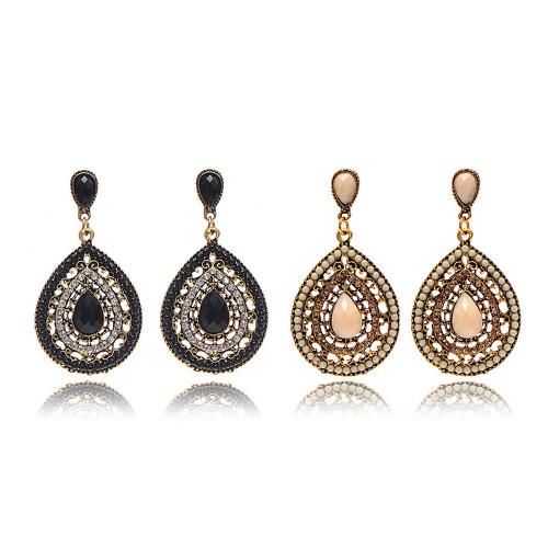 Fashion Bohemian Style Crystal Water-drop Earrings for Women Delicate Jewelry AccessoryApparel &amp; Jewelry<br>Fashion Bohemian Style Crystal Water-drop Earrings for Women Delicate Jewelry Accessory<br>