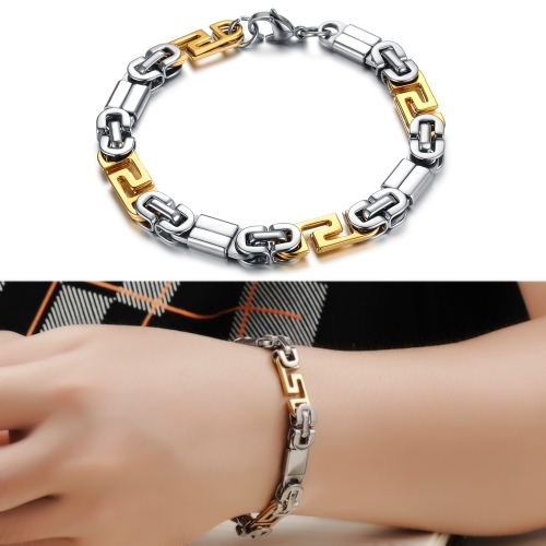 Classical Design Punk Style 316L Stainless Steel Special Biker Bicycle Link Chain Bracelet High Polished Fashion JewelryApparel &amp; Jewelry<br>Classical Design Punk Style 316L Stainless Steel Special Biker Bicycle Link Chain Bracelet High Polished Fashion Jewelry<br>