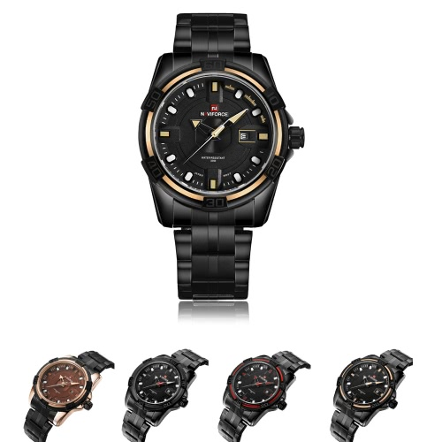 NAVIFORCE 2016 New Fashion Stainless Steel Quartz Man Watch 30M Water-resistant Casual Wristwatch Cool Watch for Men W/ BoxApparel &amp; Jewelry<br>NAVIFORCE 2016 New Fashion Stainless Steel Quartz Man Watch 30M Water-resistant Casual Wristwatch Cool Watch for Men W/ Box<br>