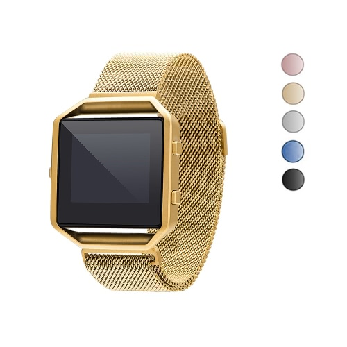 Band for Fitbit Blaze Watch 40mm Stainless Steel Mesh Watch Band Frame Magnetic Buckle Milanese Loop Replacement Strap for FitbitApparel &amp; Jewelry<br>Band for Fitbit Blaze Watch 40mm Stainless Steel Mesh Watch Band Frame Magnetic Buckle Milanese Loop Replacement Strap for Fitbit<br>