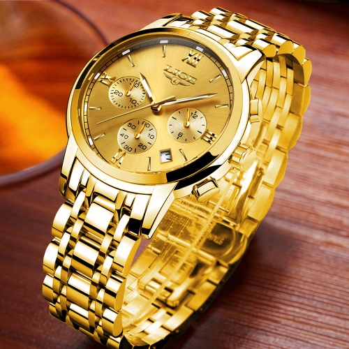 LIGE Fashion Luxury Stainless Steel Men Watches 3ATM Water-resistant Quartz Watch Luminous Sport Man Wristwatch Male Relogio MuscuApparel &amp; Jewelry<br>LIGE Fashion Luxury Stainless Steel Men Watches 3ATM Water-resistant Quartz Watch Luminous Sport Man Wristwatch Male Relogio Muscu<br>
