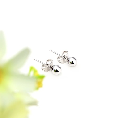 1Pair 18K Platinum Plated Bead Round Ball Ear Stud Earrings Jewelry Gift for Women LadyApparel &amp; Jewelry<br>1Pair 18K Platinum Plated Bead Round Ball Ear Stud Earrings Jewelry Gift for Women Lady<br>