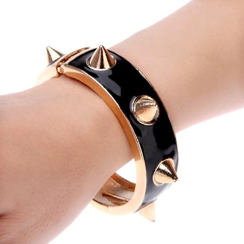 Punk Style Large Rivet Studded Bangle Alloy BraceletApparel &amp; Jewelry<br>Punk Style Large Rivet Studded Bangle Alloy Bracelet<br>