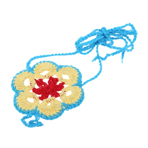 Cotton Thread Crochet Foot Chain Bracelet Anklet Colorful Flower Beach Barefoot Sandal 2#Apparel &amp; Jewelry<br>Cotton Thread Crochet Foot Chain Bracelet Anklet Colorful Flower Beach Barefoot Sandal 2#<br>