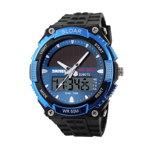 SKMEI Fashion Solar Power Sports Military WatchApparel &amp; Jewelry<br>SKMEI Fashion Solar Power Sports Military Watch<br>