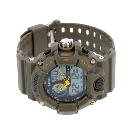 SKMEI Men Dual Time Multifunctional High Quality Sports Wristwatch Water Resistance Outdoor Electronic WatchApparel &amp; Jewelry<br>SKMEI Men Dual Time Multifunctional High Quality Sports Wristwatch Water Resistance Outdoor Electronic Watch<br>