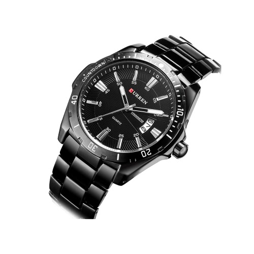 CURREN High Quality Chic Wristwatch Water Resistant Fashion Men Quartz Watch with CalendarApparel &amp; Jewelry<br>CURREN High Quality Chic Wristwatch Water Resistant Fashion Men Quartz Watch with Calendar<br>