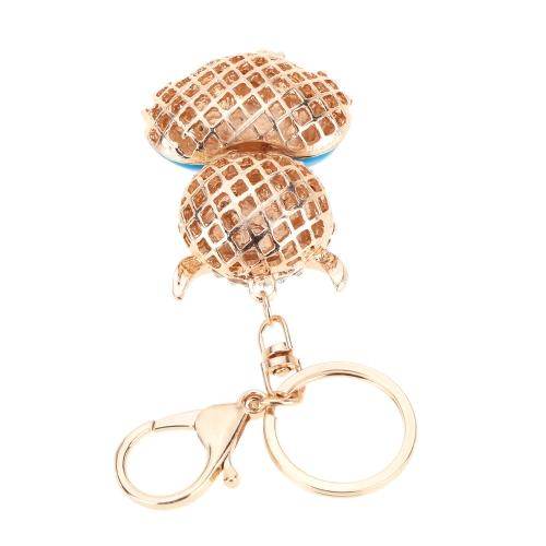 Fashional Jewelry Hollow Alloy Vintage Shinning Rhinestone Owl Pendant Key Ring Key ChainApparel &amp; Jewelry<br>Fashional Jewelry Hollow Alloy Vintage Shinning Rhinestone Owl Pendant Key Ring Key Chain<br>