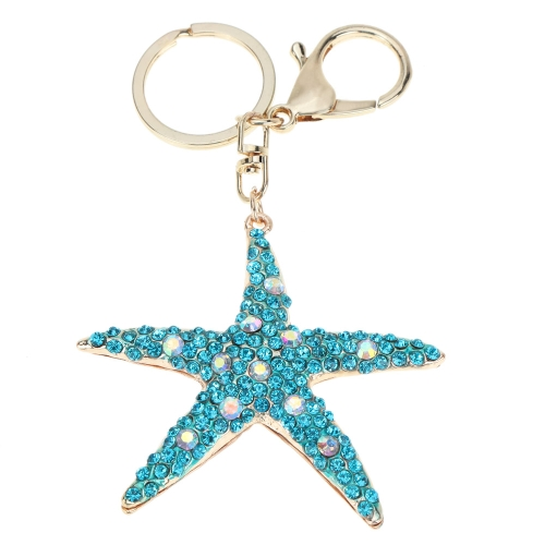 Fashional Jewelry Hollow Shinning Rhinestone Aureate Star Pendant Key Ring Key ChainApparel &amp; Jewelry<br>Fashional Jewelry Hollow Shinning Rhinestone Aureate Star Pendant Key Ring Key Chain<br>