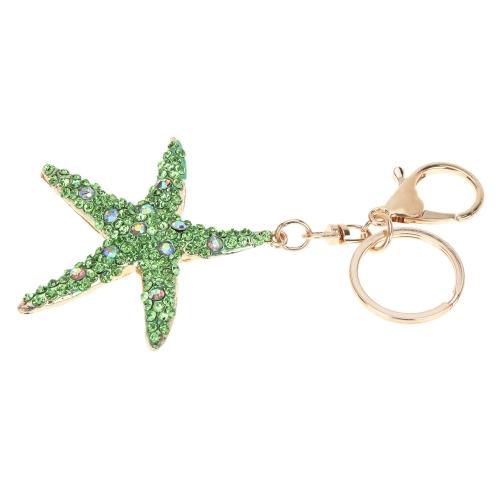 Fashional Jewelry Hollow Shinning Rhinestone Aureate Star Pendant Key Ring Key ChainApparel &amp; Jewelry<br>Fashional Jewelry Hollow Shinning Rhinestone Aureate Star Pendant Key Ring Key Chain<br>
