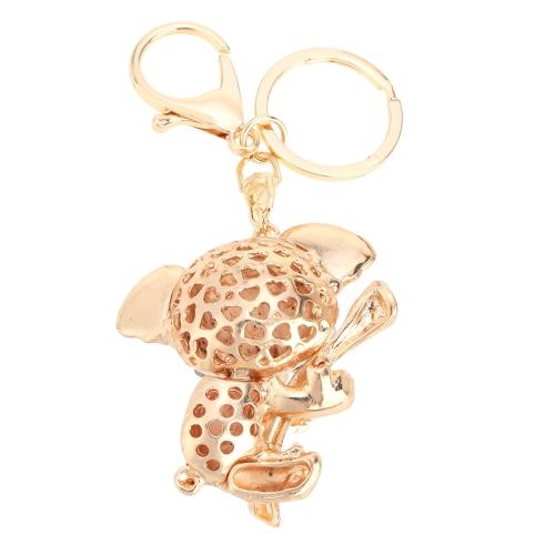 Fashional Jewelry Hollow Shinning Rhinestone Aureate Koala Pendant Key Ring Key ChainApparel &amp; Jewelry<br>Fashional Jewelry Hollow Shinning Rhinestone Aureate Koala Pendant Key Ring Key Chain<br>