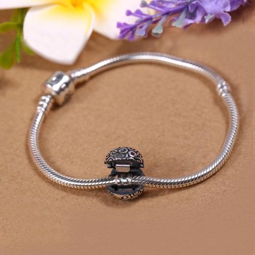 Romacci S925 Clip Bead Charm Bracelet DIY Jewelry