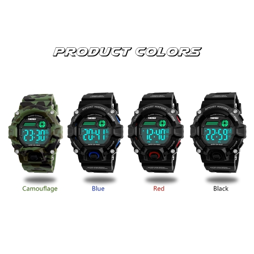 SKMEI Men Sport Digital WristwatchesApparel &amp; Jewelry<br>SKMEI Men Sport Digital Wristwatches<br>