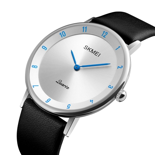 SKMEI Fashion Casual Quartz Watch 3ATM Water-resistant Men Watches Genuine Leather Wristwatch Male Relogio MusculinoApparel &amp; Jewelry<br>SKMEI Fashion Casual Quartz Watch 3ATM Water-resistant Men Watches Genuine Leather Wristwatch Male Relogio Musculino<br>