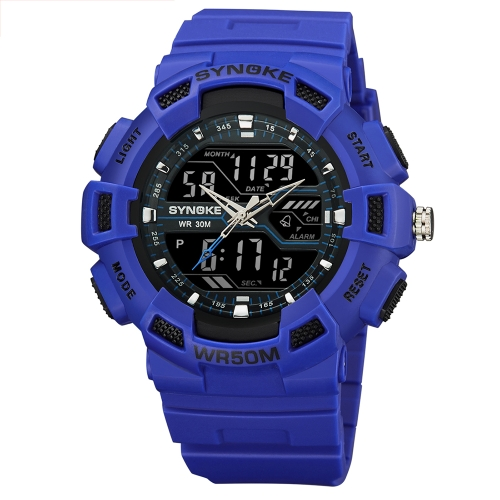 SYNOKE Digital Sport Watch 5ATM Water-resistant Men Watches Backlight Wristwatch Male StopwatchApparel &amp; Jewelry<br>SYNOKE Digital Sport Watch 5ATM Water-resistant Men Watches Backlight Wristwatch Male Stopwatch<br>
