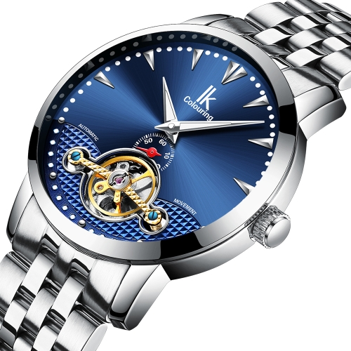 IKColouring Business Automatic Mechanical Watch 3ATM Water-resistant Men Watch Luminous Wristwatch MaleApparel &amp; Jewelry<br>IKColouring Business Automatic Mechanical Watch 3ATM Water-resistant Men Watch Luminous Wristwatch Male<br>