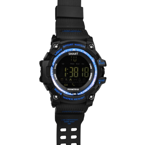 Sport Smart Watch FSTN LCD Display BT 4.0 Fitness Tracker Pedometer Stopwatch Remote Control Camera WristWatch for iOS 7.0 &amp; AndroApparel &amp; Jewelry<br>Sport Smart Watch FSTN LCD Display BT 4.0 Fitness Tracker Pedometer Stopwatch Remote Control Camera WristWatch for iOS 7.0 &amp; Andro<br>