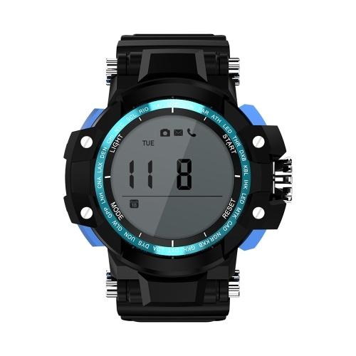 BT Smartwatch Sport Watch Pedometro con monitoraggio del sonno Impermeabile IP68 Digital Smartwatch per IOS e dispositivi indossabili Android Smart Watch