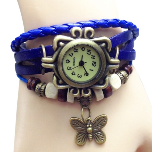 17f6b1ee58 Women Fashion Vintage Handmade Wrist Watch
