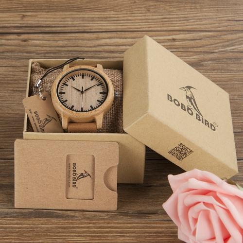 BOBOBIRD Fashion Simple Bamboo Lovers Watches Quartz Genuine Leather Wooden Casual Wristwatch CouplesApparel &amp; Jewelry<br>BOBOBIRD Fashion Simple Bamboo Lovers Watches Quartz Genuine Leather Wooden Casual Wristwatch Couples<br>