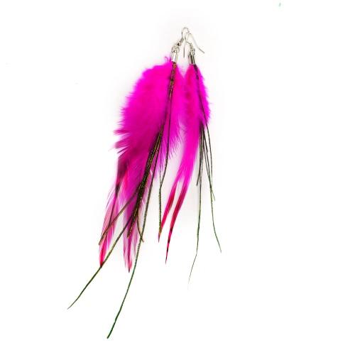 Fashion Cute Long Downy Feather Tassel Chandelier Drop Dangle Earring Eardrop Women Girl Jewelry Charm Accessory GiftApparel &amp; Jewelry<br>Fashion Cute Long Downy Feather Tassel Chandelier Drop Dangle Earring Eardrop Women Girl Jewelry Charm Accessory Gift<br>