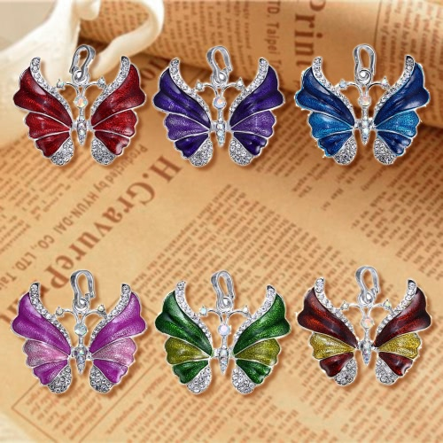 Luxury Elegant White Gold Electroplated Butterfly Pendant Chain NecklaceApparel &amp; Jewelry<br>Luxury Elegant White Gold Electroplated Butterfly Pendant Chain Necklace<br>